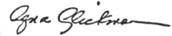 Massasoit Community College president's signature