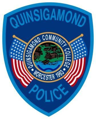 Quinsigamond Campus Police Badge