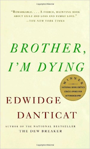 Brother, I'm Dying (book cover)