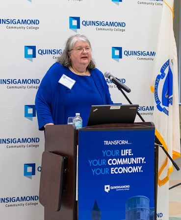 Dr. Gail Carberry, QCC President