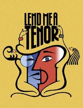 Lend Me A Tenor poster