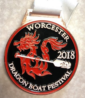 QCC Wyverns came away with a medal in the 2018 Dragon Boat Festival.