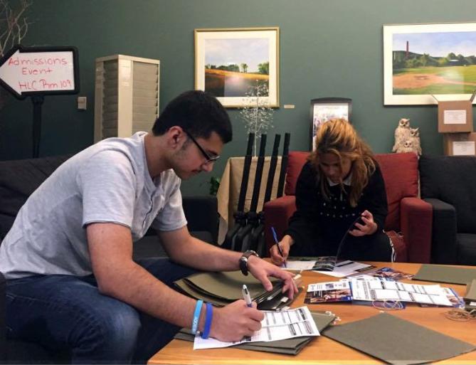 Worcester Public Schools College Community Connection Program participants