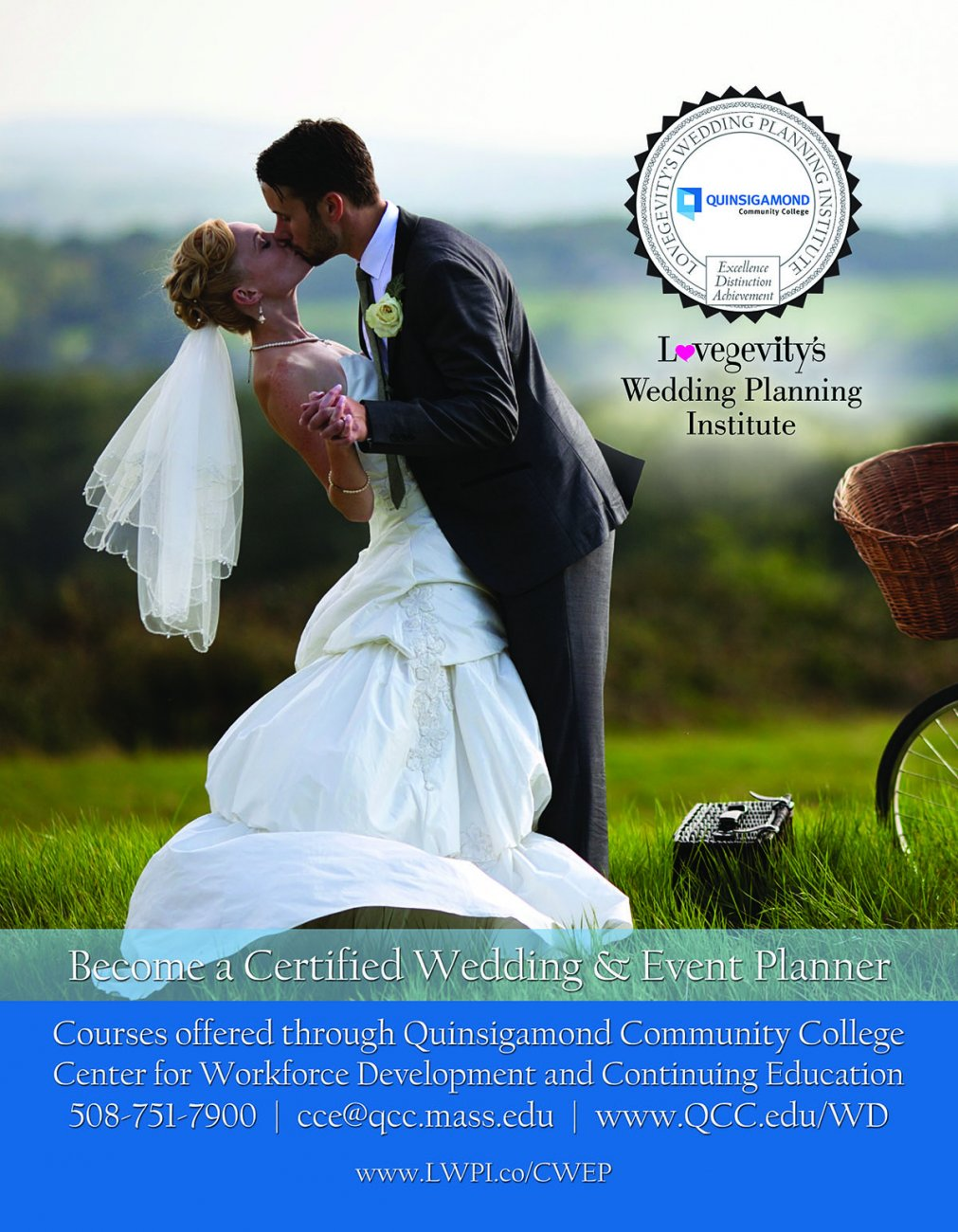 become a certified wedding and event planner