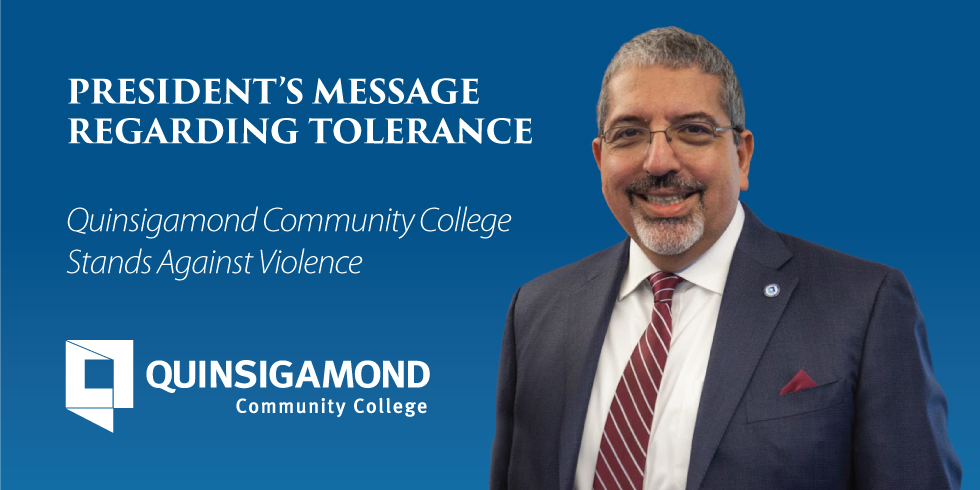 President's Message Regarding Tolerance