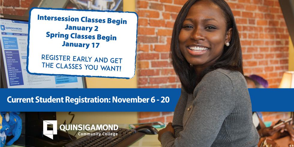 Current Student Registration: November 6 - 20