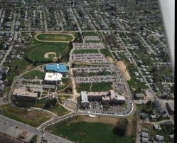 Worcester Main Campus Aerial View