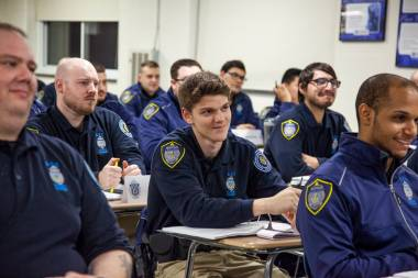 Students at the Police Academy
