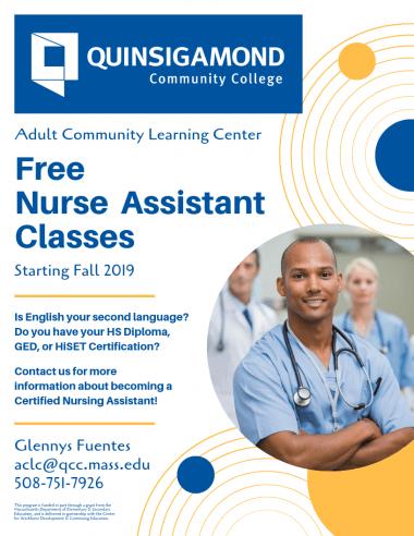 Certified Nurse Assistant Program for ESOL