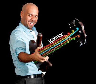 Professor Jose Castillo with Guitar