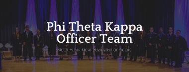 PTK News: New Officer Team Elected on April 8th and 9th