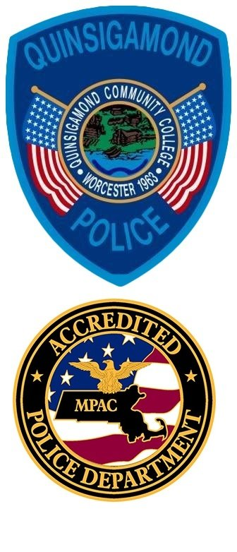 Quinsigamond Campus Police Badges