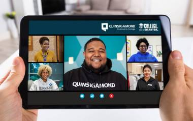 Virtual Meeting on a Tablet