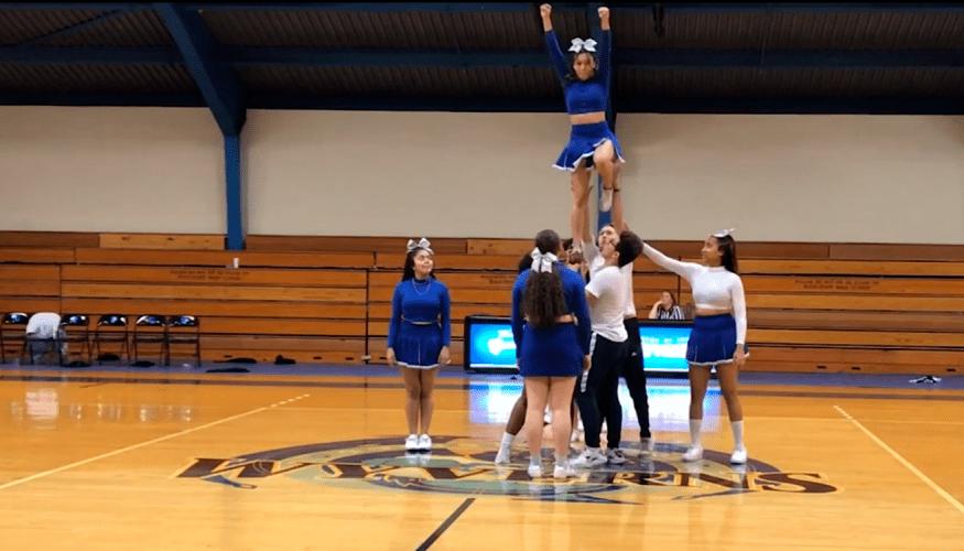 QCC Cheerleaders