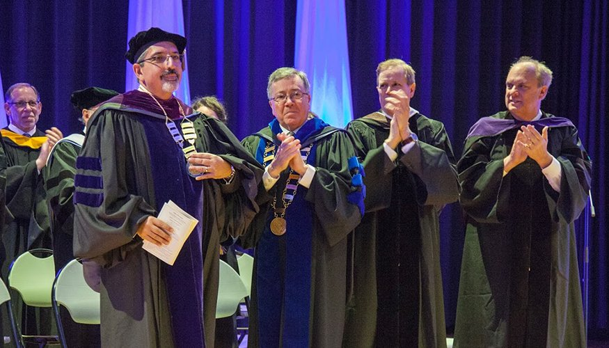 The Inauguration of Dr. Luis G. Pedraja