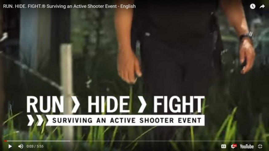 Run, Hide, Fight video