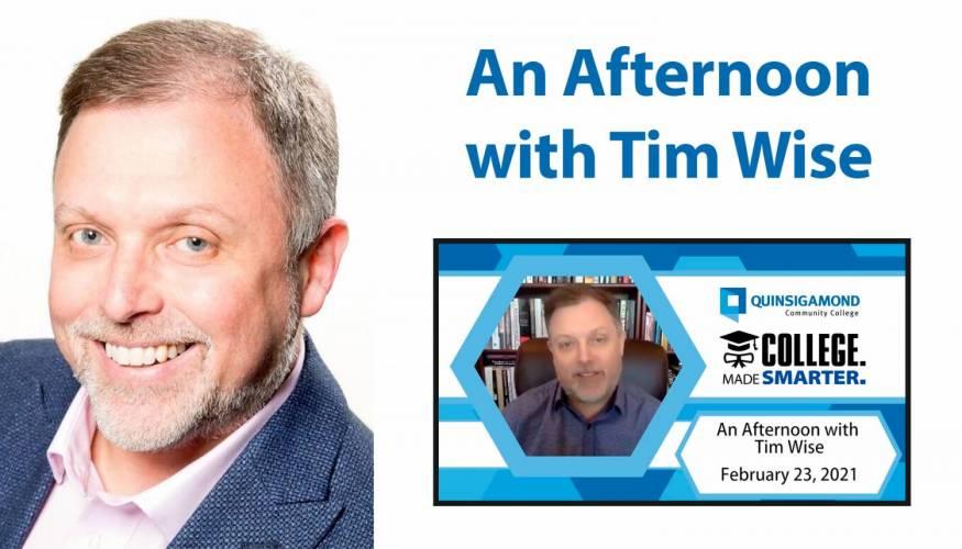 Guest speaker Tim Wise