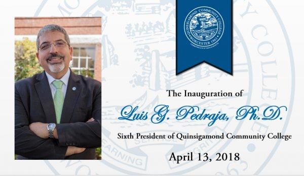 Dr. Pedraja's Inauguration Invite Front