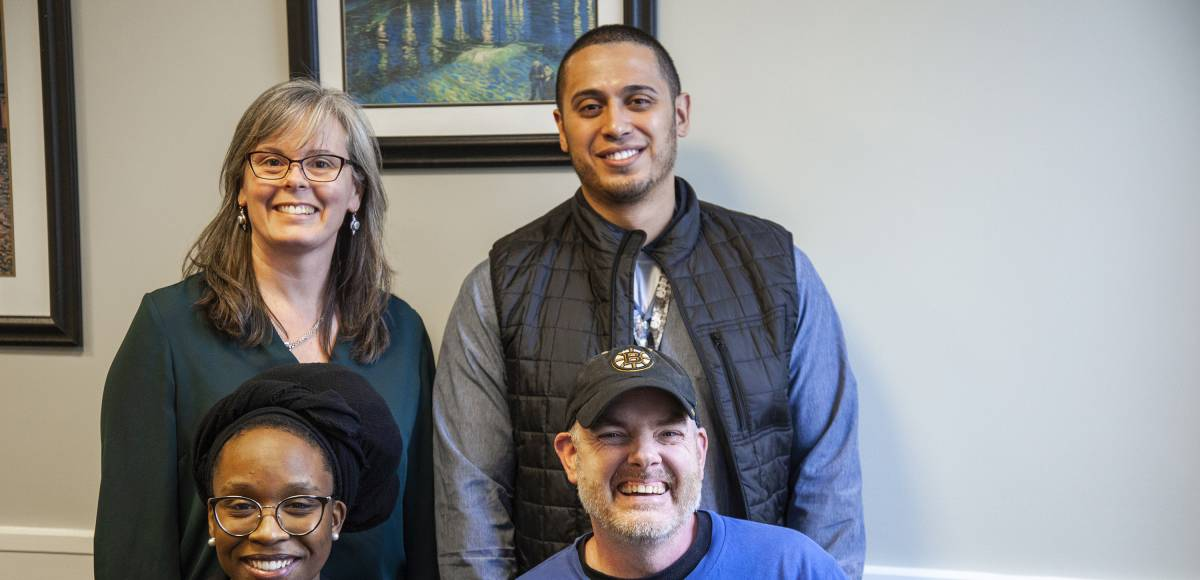 Carol King, Julio Zayas, Staisha Chavis and David McGrath
