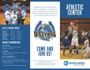 Athletic Center Brochure