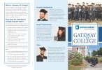 Gateway to College Brochure