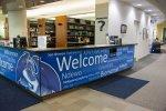 Welcome Center Desk Wrap