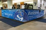 Welcome Center Desk Wrap