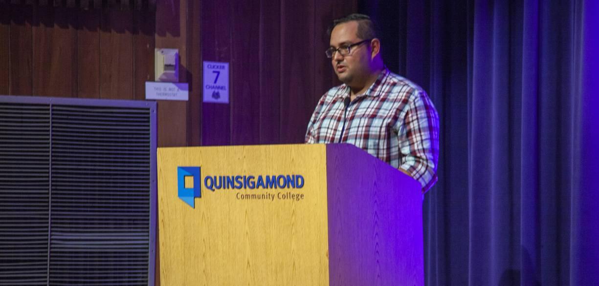 Former mentee turned mentor Geovanni Cruz