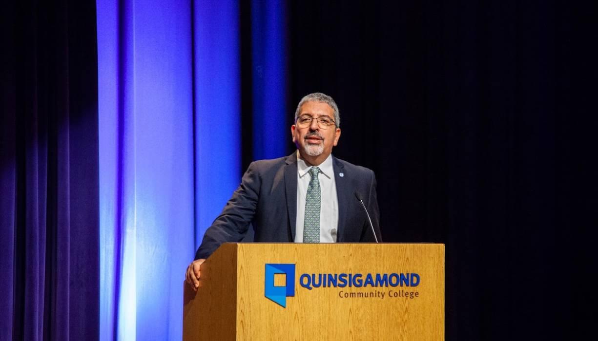 QCC President Luis G. Pedraja, Ph.D.