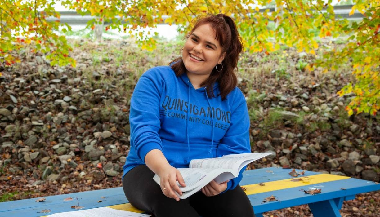 QCC student Kiara Diaz