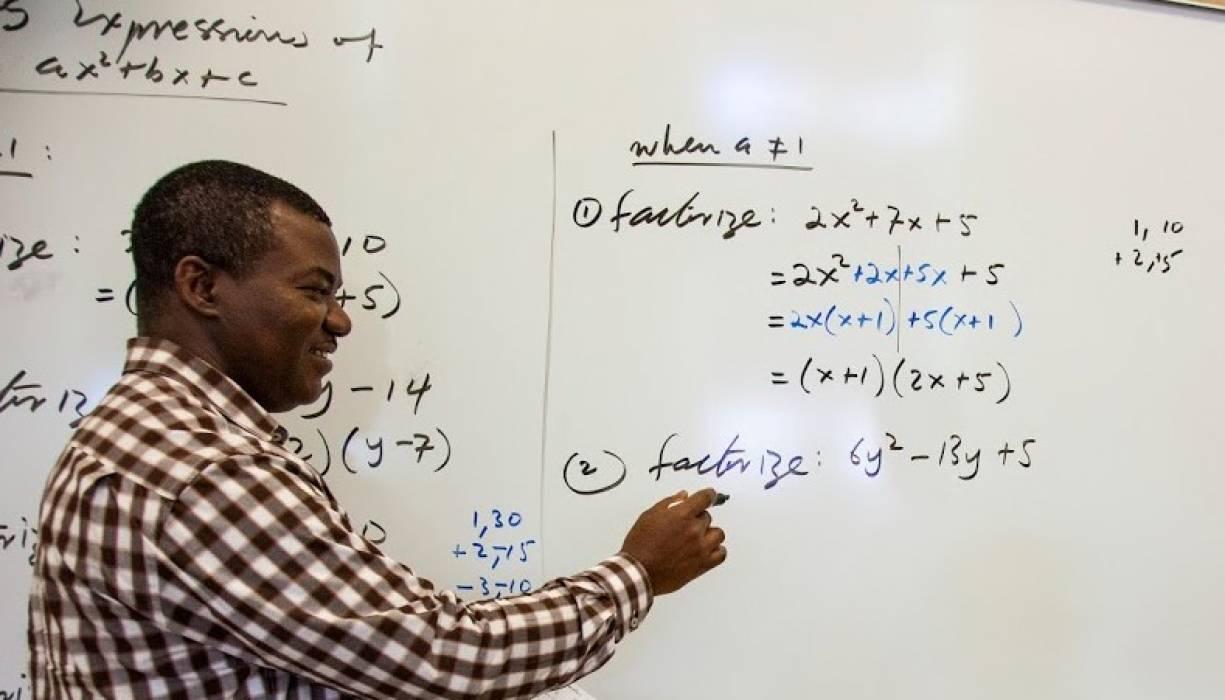 Professor of Mathematics Sheiba Mas-Oud