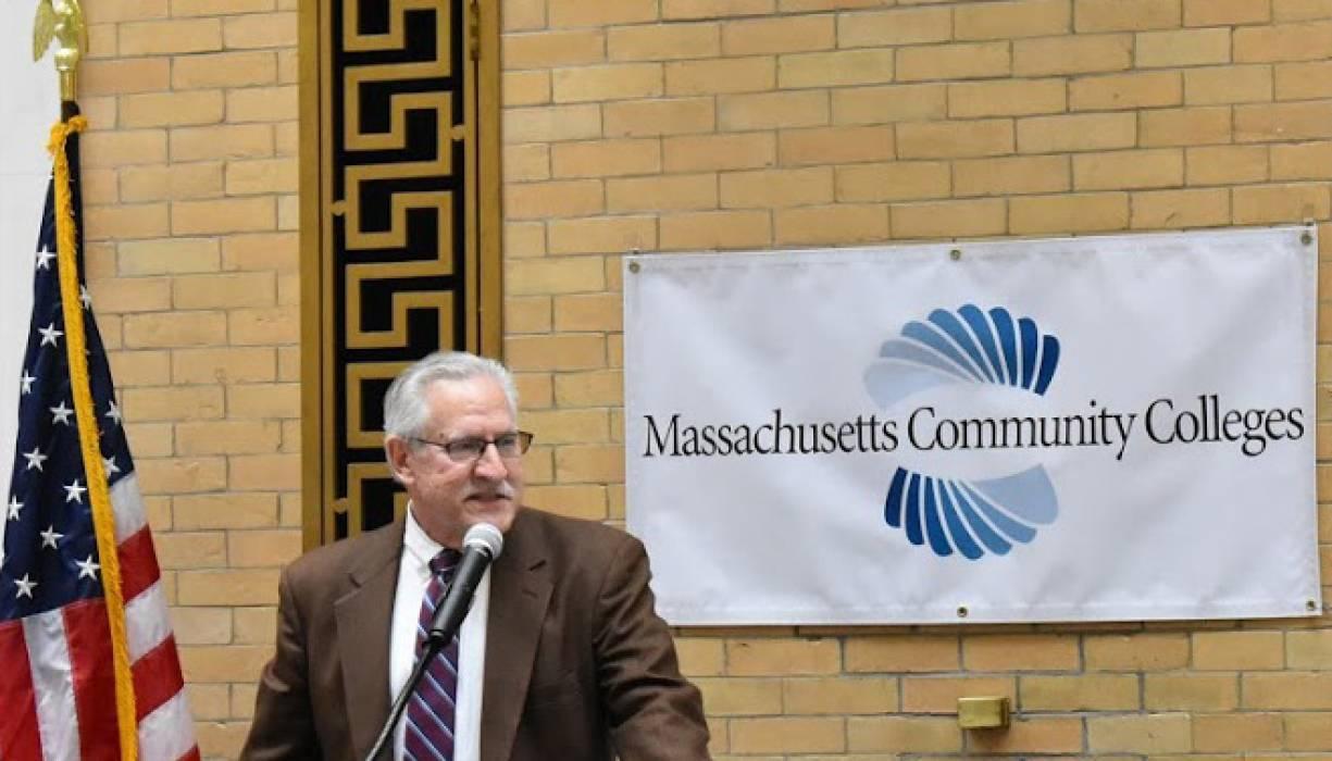 Department of Higher Education Commissioner Carlos Santiago