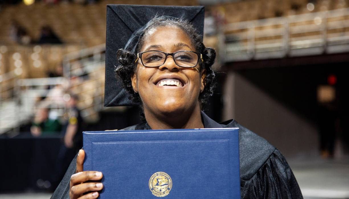 QCC's 2021 Commencement Ceremony will be held virtually.