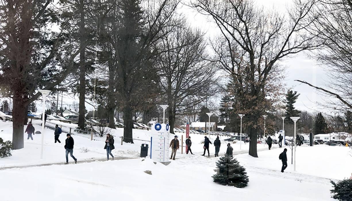 Students begin the Spring 2019 semester