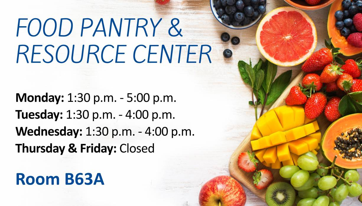 QCC Food Pantry & Resource Center Summer Hours