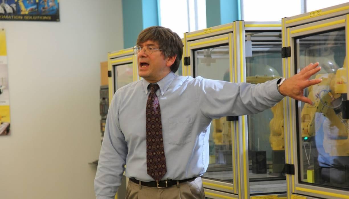 Jacob Longacre, QCC associate professor of Electronics Engineering Technology