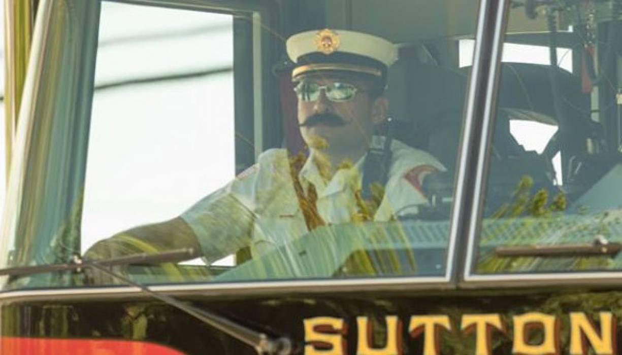 Sutton Fire Department District Fire Chief Robin Dresser