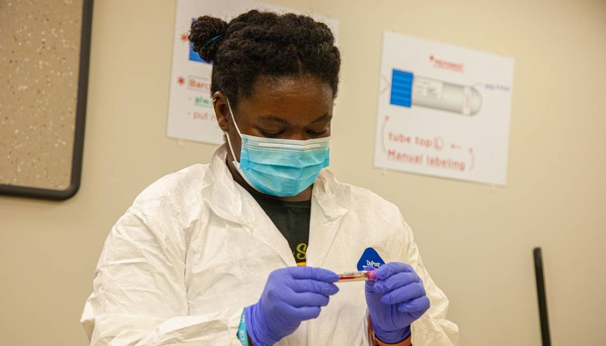 Free healthcare training delivers a clear pathway for students to enter the workforce.