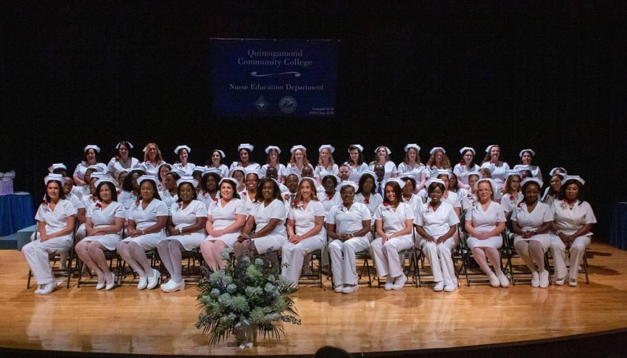 Class of 2019 Practical Nursing graduates