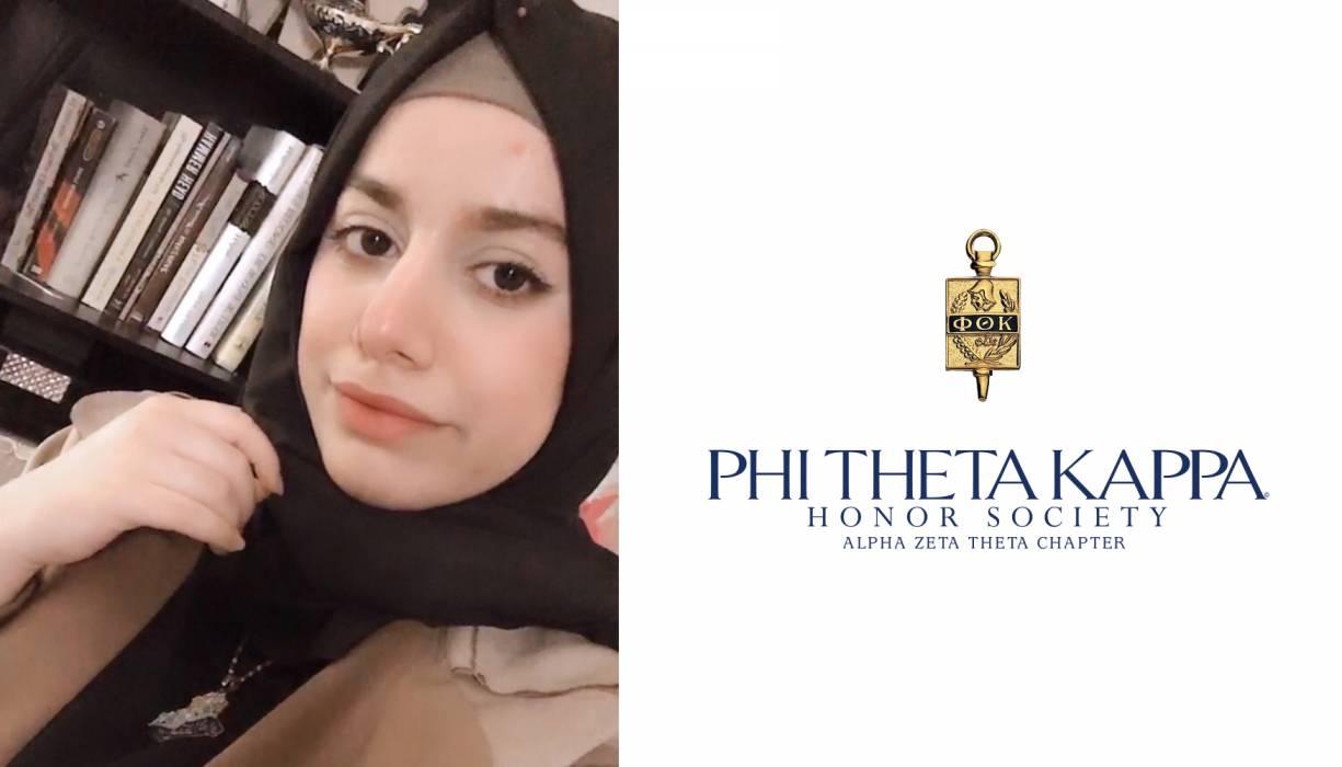 PTK student Fatima Mohammed