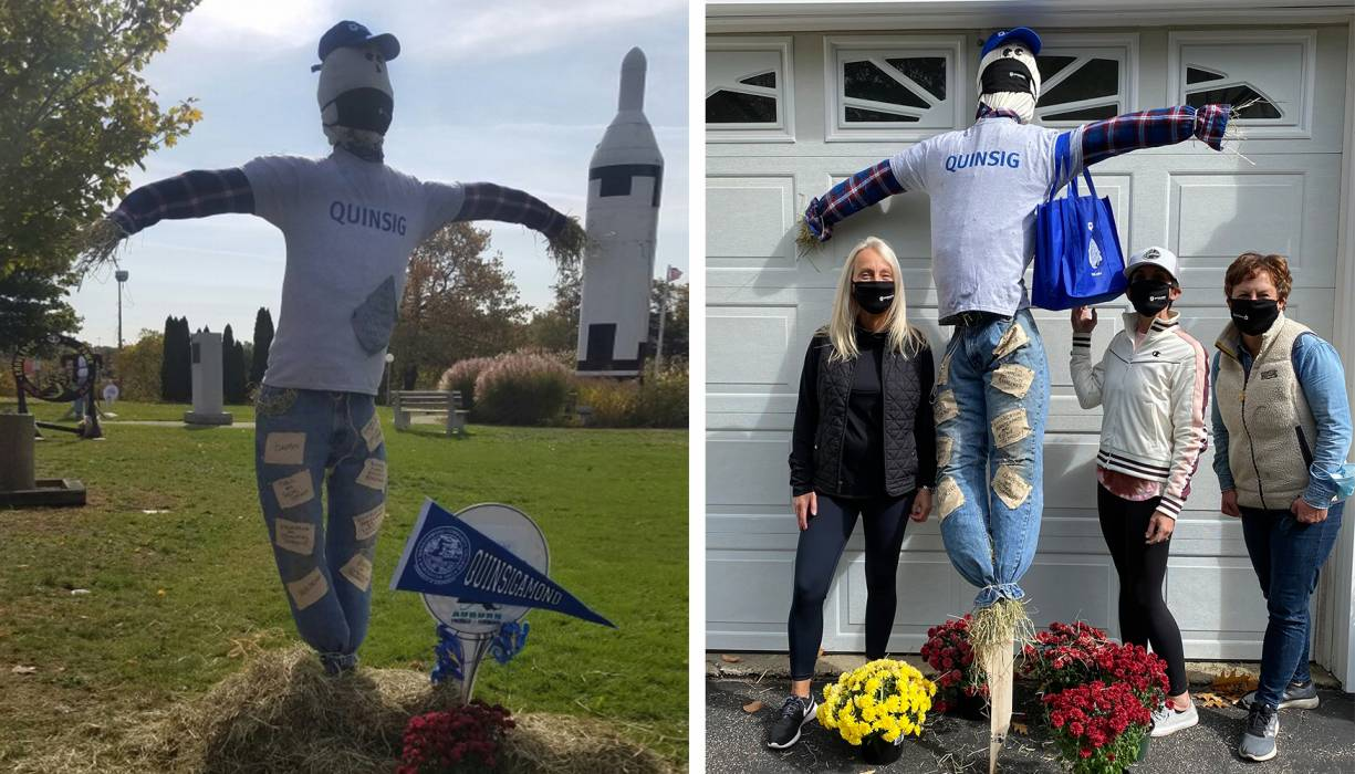 QCC's Scarecrow contest submission