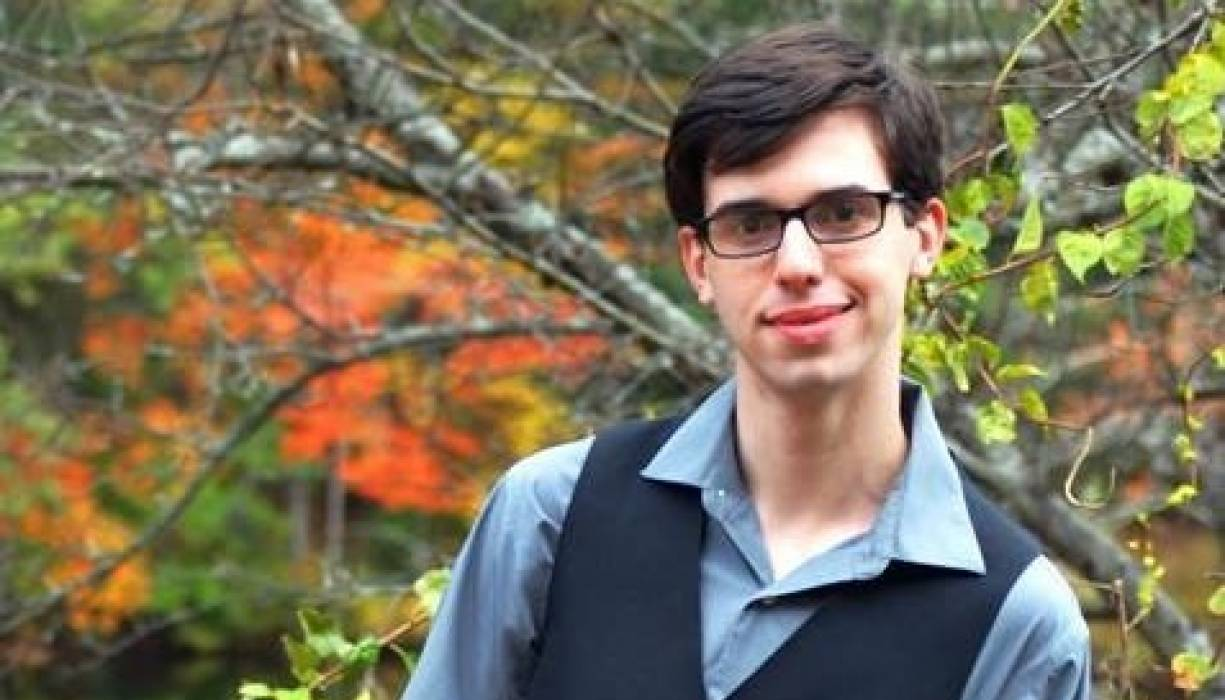 QCC student Vincent Strzelecki was named 2021 New Century Workforce Pathway Scholar.