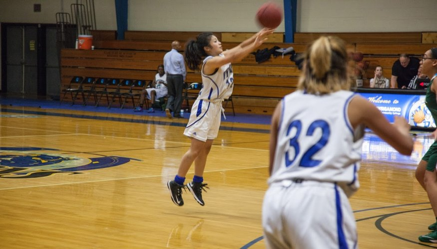 The women's basketball team is looking for players for the second half of their season.