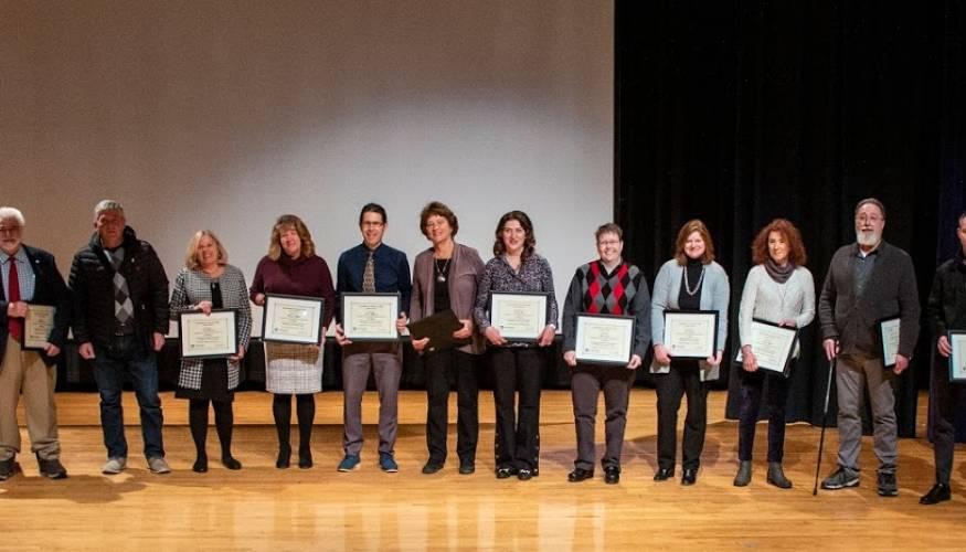 QCC Service Award Winners