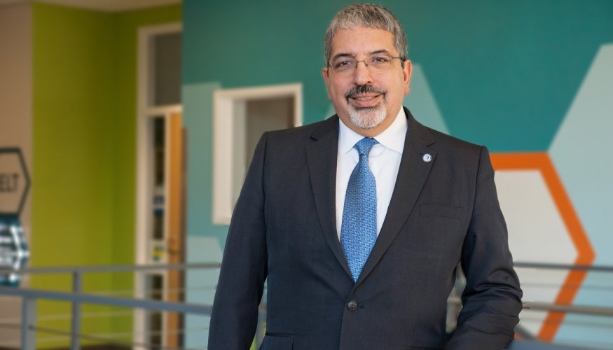 QCC President Dr. Luis J. Pedraja