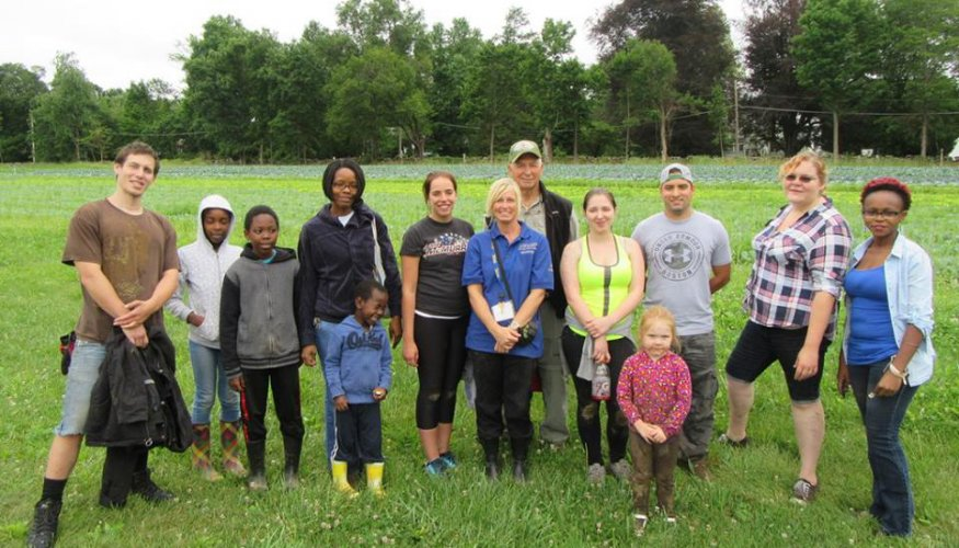 Community Harvest Project 7/9/16