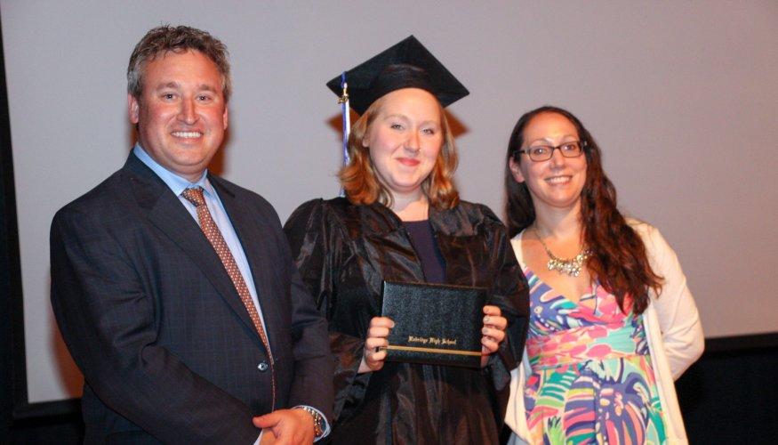 Gateway to College graduate
