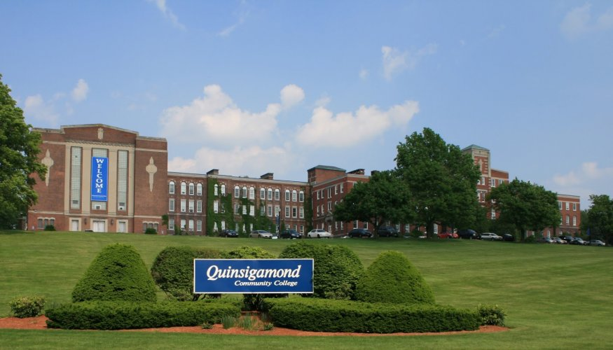 Quinsigamond Community College's main campus in Worcester.