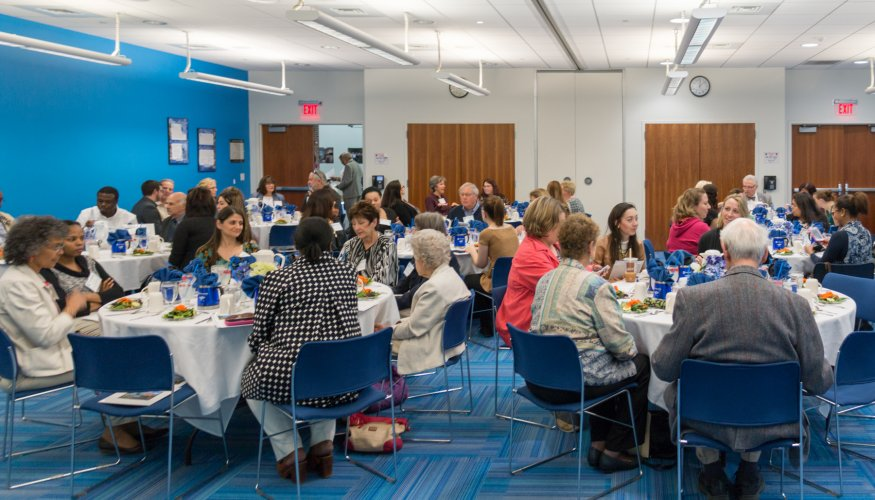 Scholarship Lunch attendees
