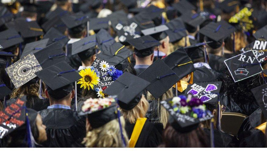 A group of graduates